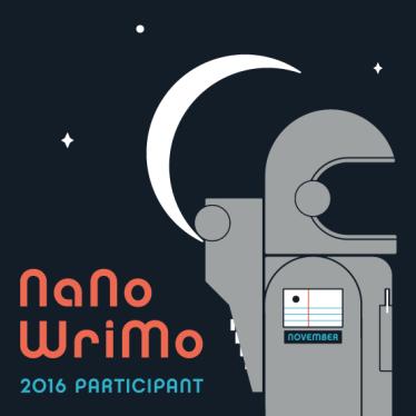 nanowrimo 2016 participant